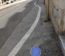 céramiques de 3ttman installées rue du petit battant à besançon pour bien urbain
