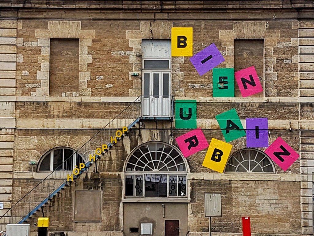 BU façade