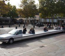 la limousine banc public