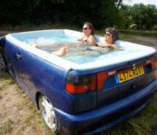 la voiture jacuzzi seat ibiza
