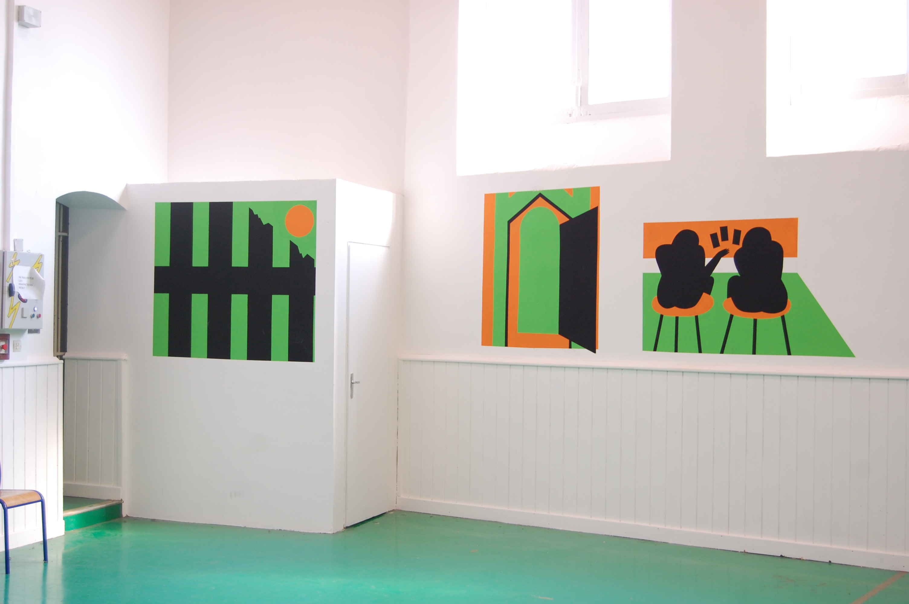 Atelier à la Maison d'Arrêt de Besançon