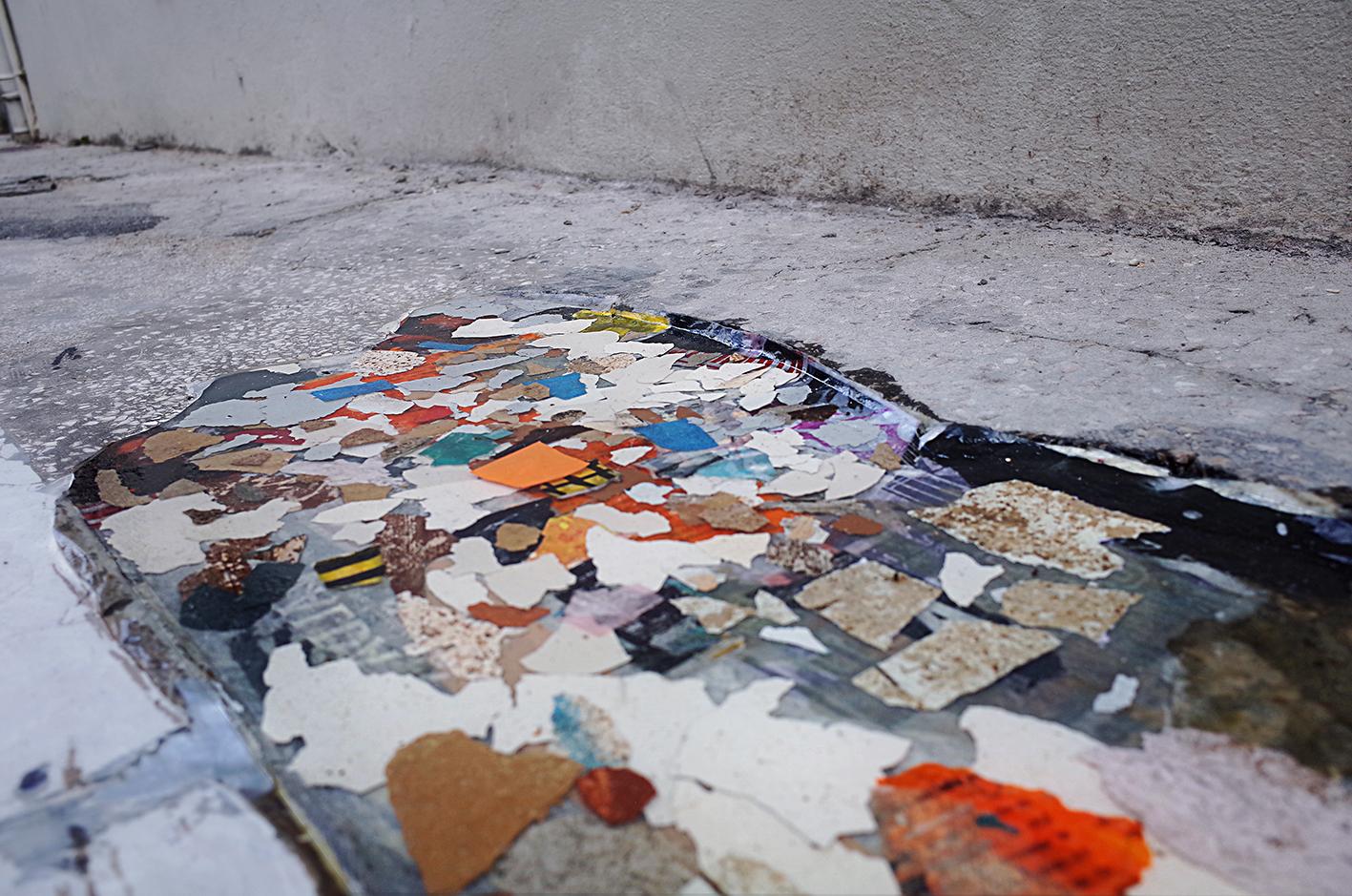 Materials on street 01