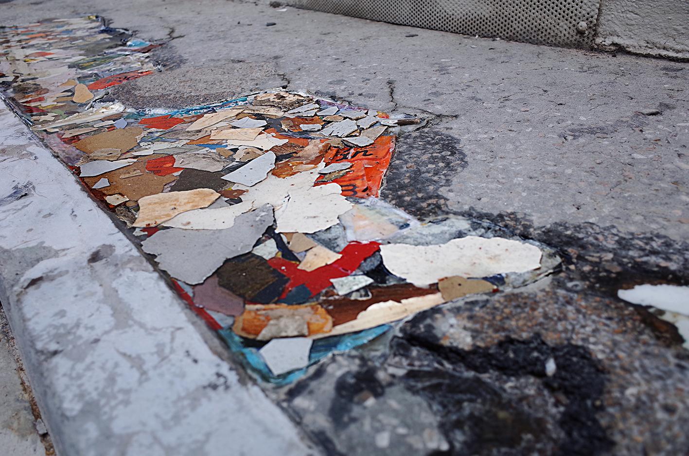 Materials on street 03