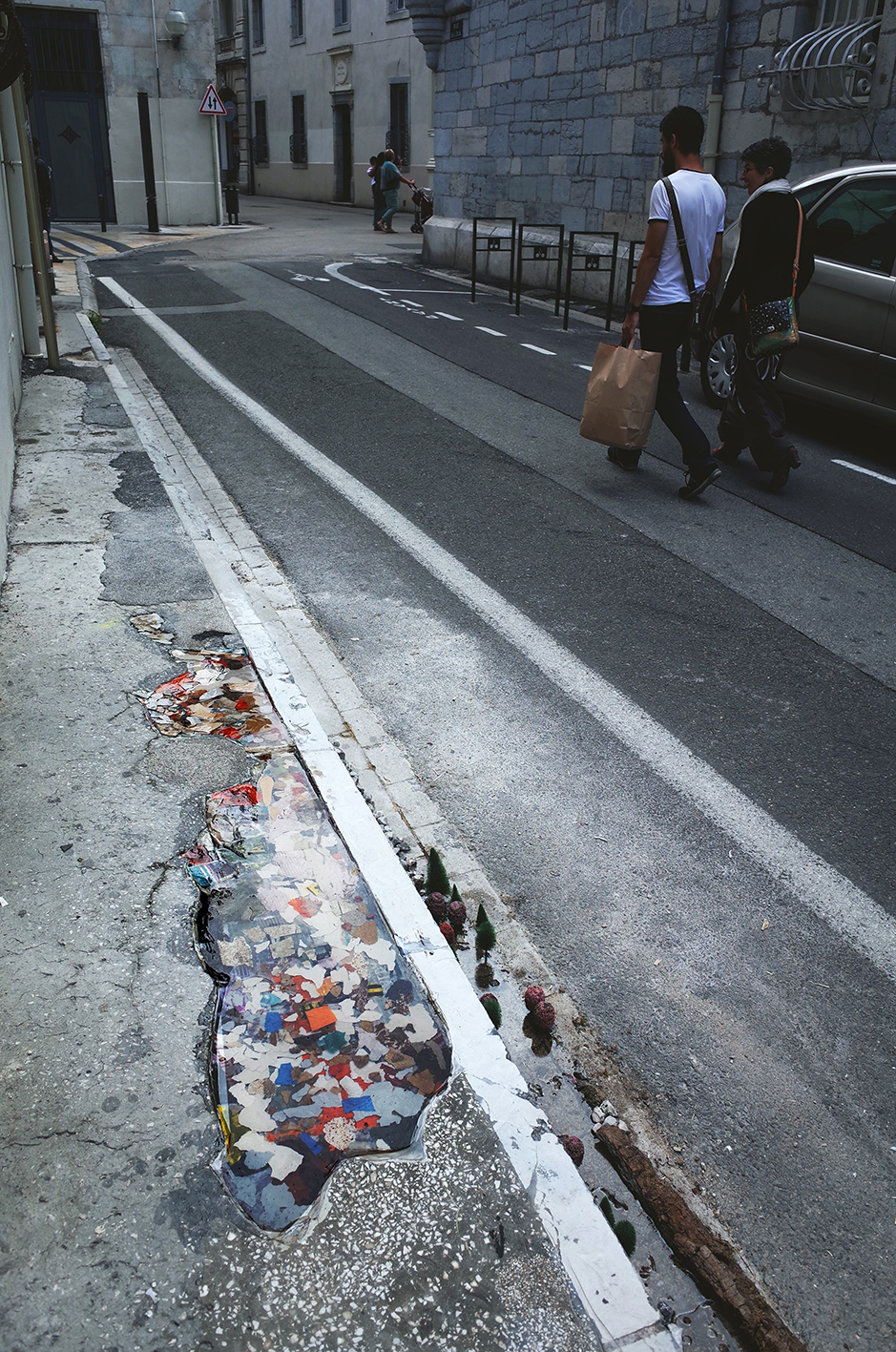 Materials on street 07