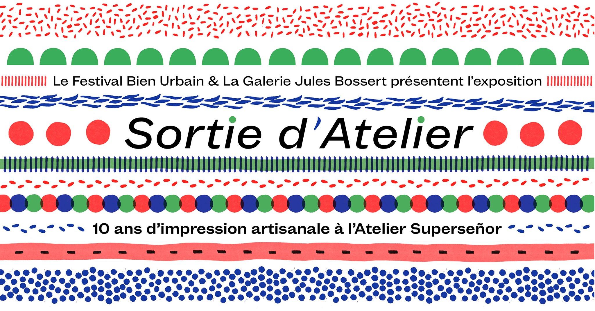 """Exposition """"Sortie d'atelier"""""""