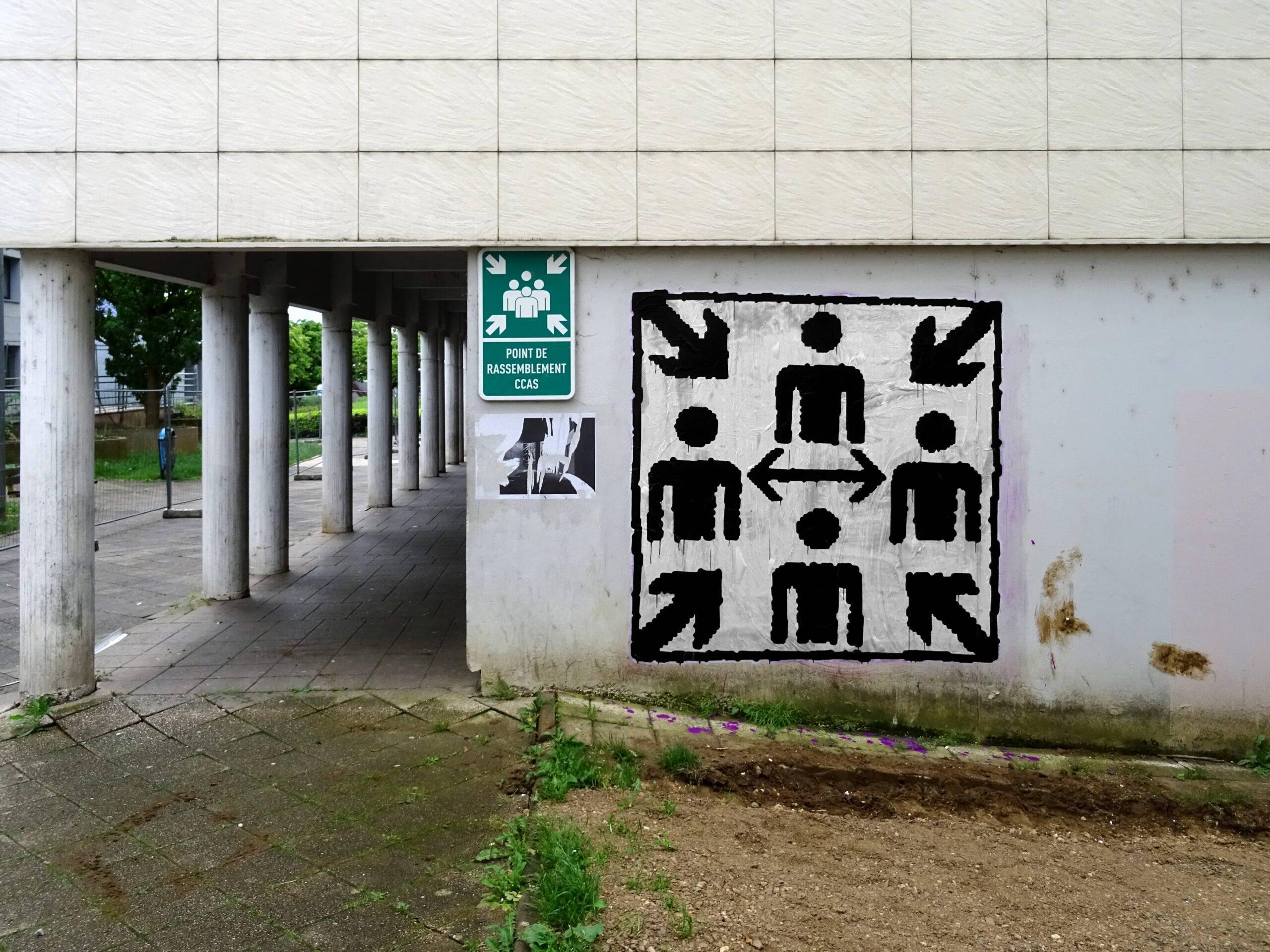 38 Point de rassemblement Planoise Rue Picasso