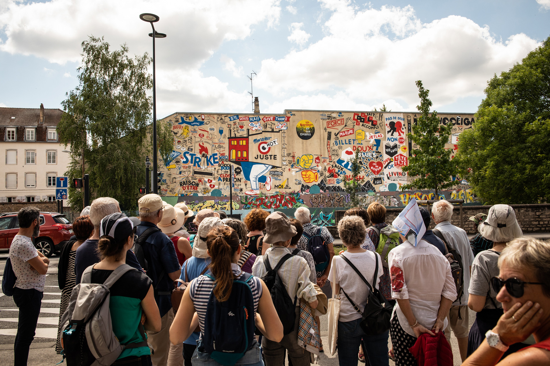 Visite patrimoine et art urbain